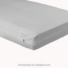 Terry fabric TPU coated removable mattress cover/ waterproof hospital mattress protector