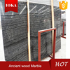 Chinese black ancient wooden marble slab and tile