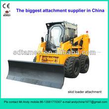 skid steer loader dozer blade (skid loader attachment,bobcat attachment