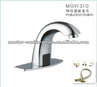 high quality hot sale Sensor automatic touchless Faucet with 304SS inlet hose