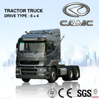 Chinese CAMC 6x4 tractor truck for sale