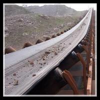 sand and concrete belt conveyor system