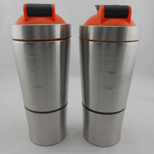 2015 New stainless steel protein shaker shake cup for protein mixing, protei protein shakes bottle for promotion gifts