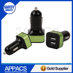 Hot sale oem cheap two port usb car charger 2a from car charger factory
