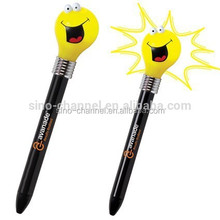 Cheap bulb design fashion kids fancy pens