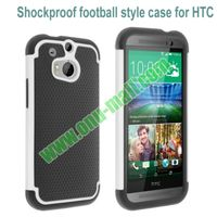 Two-in-one Pattern Defender Shockproof Hard Case for HTC One M8
