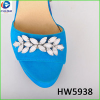 beautiful shoes decoration for fashion girl and garment ornamentation