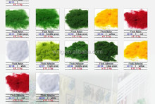 red/ green/yellow/ white Nylon Material Flock powder for electrostatic flocking machine construction building
