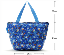 alumin foil thermal insulated cooler lunch bags, promotional picnic lunch tote bags, zipper picnic lunch gifts bag