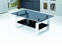 modern pop & cheap glass coffee table