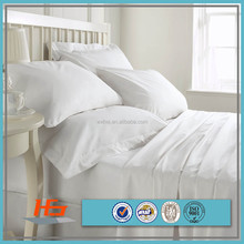 Chinese factory white cotton hospital/hotel bedding set /bed linen