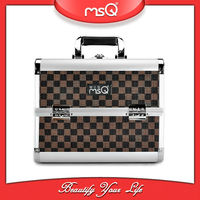 MSQ Professional Travel Aluminum Makeup Case