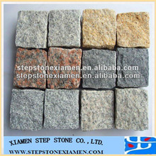Outdoor cube unpolished Granite Paving Stone