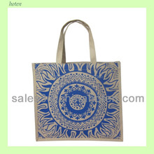 Popular shopping jute bag Promtional jute bags, jute promotional bags