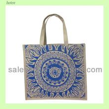 Popular shopping jute bag Promtional jute bags, jute promotional bags
