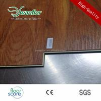 6mm Wood effect WPC vinyl tiles Wood Plastic composit floor