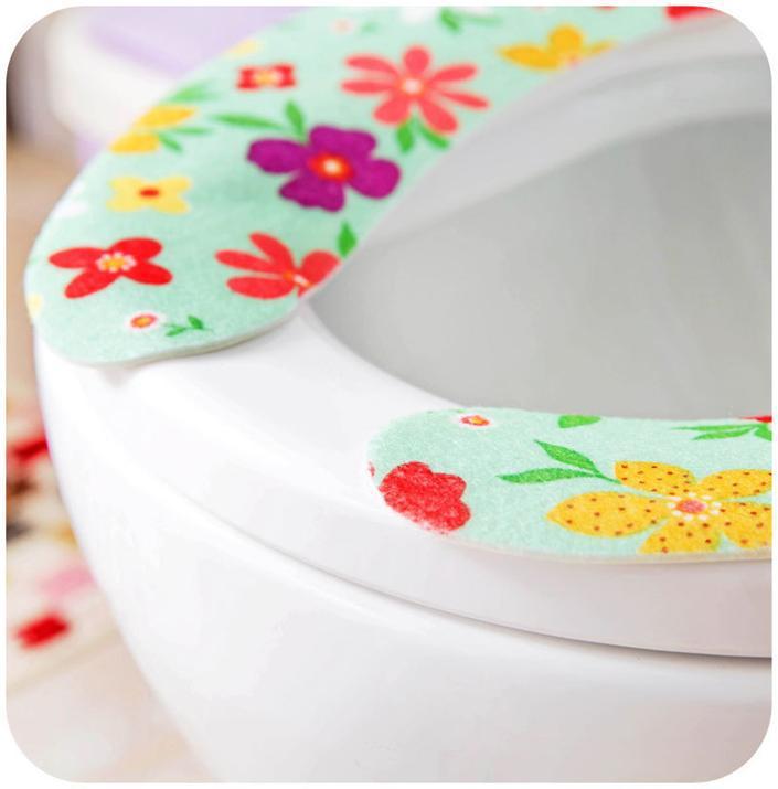 n101 hot sales image imprim couleur adulte toilette doux si ges de si ge wc flowery couleur. Black Bedroom Furniture Sets. Home Design Ideas