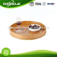 OEM Production Top Grade Promotional Price Dry Fruit Decoration Tray Handmade