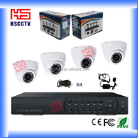 Factory price 4CH indoor security cctv system kit