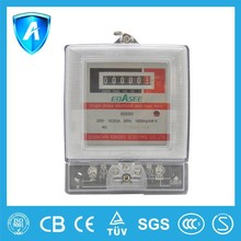 2015 best sale CB certified mechanical old style single phase energy kw.h meter