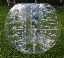 Hot sale 1.5m/1.8m kids and adults inflatable soap football bubble soccer Factory price