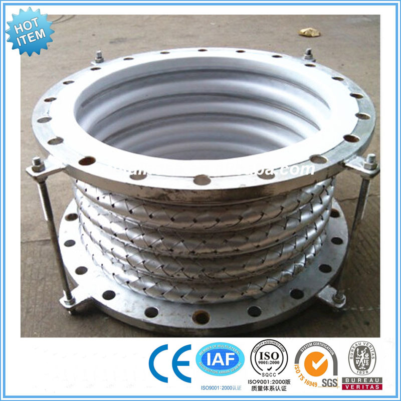 Teflon ptfe lined metal expansion joint pipe compensator