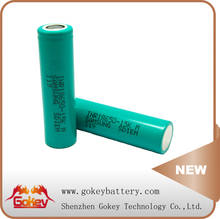 Hot Selling In The USA !!!! Samsung 15KM 1500mAh 18650 Rechargeable Batteries 3.7V 1500mAh Samsung Battery Cell