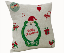 2015 China factory direct supply alibaba selling well fashion new design 100% cotton Handmade Christmas Pillow