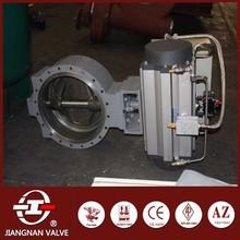 Lug butterfly valve pneumatic actuator cast steel
