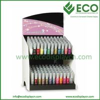 Luxury Corrugated Custom Counter Paper Display for Nail Polish
