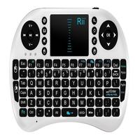 2015 hot sell Portable mini keyboard Rii Mini i8 Wireless 2.4G Keyboard with Touchpad for M8S MXQ MXIII TV BOX Mini PC