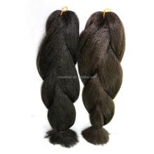 Synthetic hair braid , braiding hair natrual color
