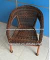 Mobiliário de jardim cadeira de vime PE