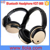 (Gold Color) KST-900 Best Wireless Headphone with Bluetooth +Mic+Battery+Hands-Free Calling
