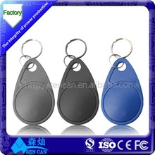 PET / Coated Paper 860~960MHz Rfid Smart Tags, Book Tag