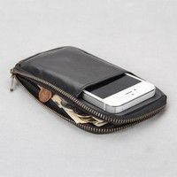Cell phone pouch for men / multifuntional holder for iphone slider case for iphone 5
