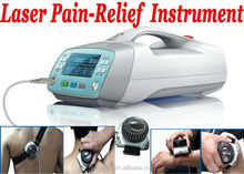 Noninvasive musle pain killer laser pain relief instrument for body relax
