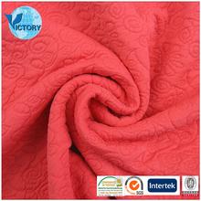 Wholesale 94% Polyester 6% Spandex Silk Brocade Jacquard Fabric