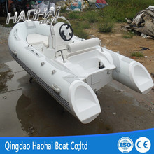 3.9m RIB inflatable fiberglass deck new cabin cruiser motor boat