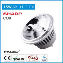 3 years warranty 75 watt equivalent GU10 ar111 led bulbs