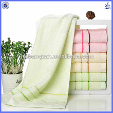 bamboo fiber cleaning cloth/bamboo terry towelling fabric/bathroom hand towels