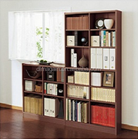 living room furniture combination wooden cabinet bookcase