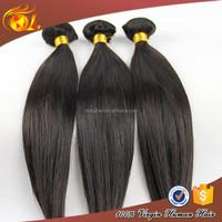 Fashionable 100% Virgin 7a grade straight wave nature girl hair weave