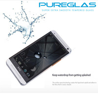 Europe selling well smart glass protector film for HTC M7 M8 M9 cell phone accessory
