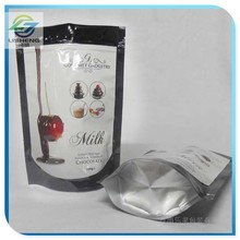 printed aluminum foil stand up food pouchs for food pack