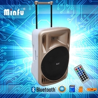 Public address amplifier sound system with wired microphone