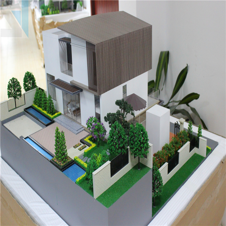 New design excellent quality 3d rendering for villa house for Architecture house models