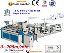 Completamente automática máquina fabricación papel higiénico