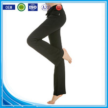 OEM bulking buy open bottom polyester/cotton yarn custom young sexy girl pants