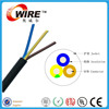 Owire acid alkali oil resistance RVV3*0.75/1.0/1.5/2.5mm Copper Conductor Material 300/500V Low Voltage Type power wire
